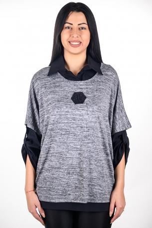 Комплект от две части - риза и горна част