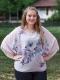 Дамска блуза с феерична горна част